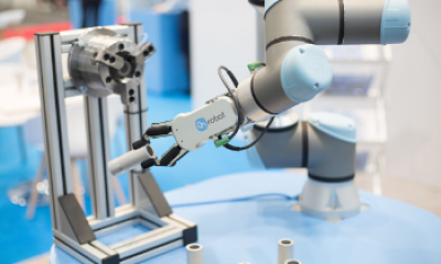 Regional, compact and competent: manufacturers, distributors and service providers networked with users from the Rhine and Ruhr regions at all about automation essen. Meet OnRobot here!