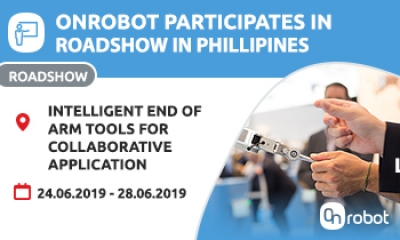 Come join us at OnRobot roadshow in Philipines