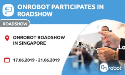Come join us at the OnRobot roadshow in Singapore