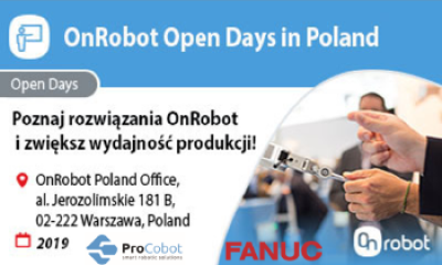 OnRobot Open Days Warsaw, 2019