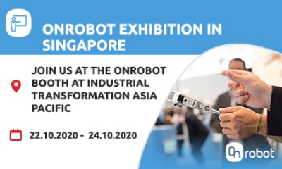 JOIN US AT THE INDUSTRIAL AUTOMATION ASIA PACIFICC ONROBOT BOOTH IN SINGAPORE