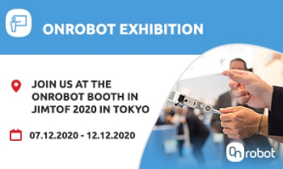 JOIN US AT THE ONROBOT BOOTH IN TOKYO