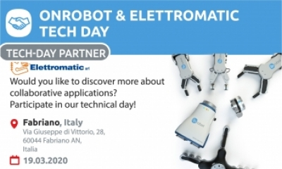Technical day OnRobot and Elettromatic  in Italy