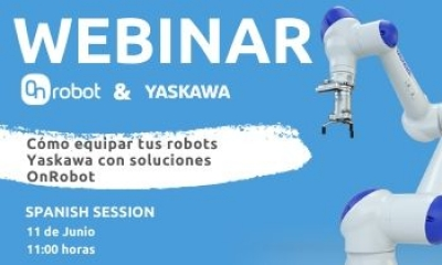 Webinar OnRobot and Yaskawa. Spanish session