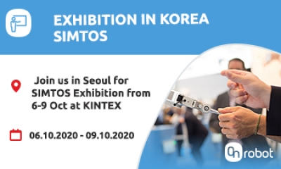 Come join us at the OnRobot Exhibition in Korea