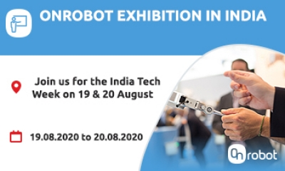 OnRobot participate in India Tech Week Exhibition