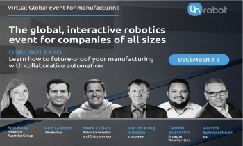 Virtual Online Global Event in Manufacturing and Automation December 2020