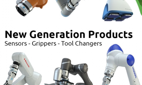 new generation of robotic arm grippers
