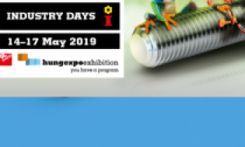 INDUSTRY DAYS HUNGARY (IPAR NAPJAI 2019) 05-14-2019 - 05-17-2019  Hungexpo, A pavilon 301D