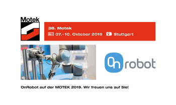 We are participating at the MOTEK 2019!