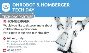Technical day OnRobot and Homberger in Italy