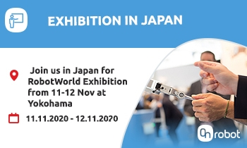 Join us at RobotWorld OnRobot Exhibition in Japan, Yokohama