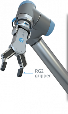 RG2 –  FLEXIBLE 2 FINGER ROBOT GRIPPER WITH WIDE STROKE